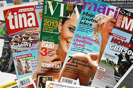 PRINT - časopisy, noviny