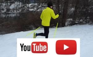 SNOW NORDIC RUNNING